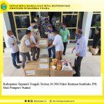 Kabupaten Tapanuli Tengah Terima 36.506 Paket Bantuan Sembako JPS Dari Pemprov Sumut