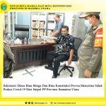 Sekretaris Dinas Bina Marga Dan Bina Konstruksi Provsu Menerima Sidak Prokes Covid-19 Dari Satpol PP Provinsi Sumatera Utara