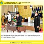 Edy Rahmayadi Lantik 33 Pejabat Eselon III di lingkungan Pemerintah Provinsi Sumatera Utara