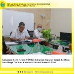 Kunjungan Kerja Komisi C DPRD Kabupaten Tapanuli Tengah Ke Dinas Bina Marga Dan Bina Konstruksi Provinsi Sumatera Utara