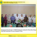 Kunjungan Kerja Komisi C DPRD Kabupaten Asahan Ke Dinas Bina Marga Dan Bina Konstruksi Provinsi Sumatera Utara