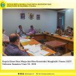 Kepala Dinas Bina Marga dan Bina Konstruksi Menghadiri Pansus LKPJ Gubernur Sumatera Utara TA. 2020
