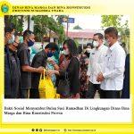 Bakti Sosial Menyambut Bulan Sici Ramadhan Di Lingkungan Dinas Bina Marga dan Bina Konstruksi Provsu