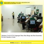 Vaksinasi Covid-19 Di Lingungan Dinas Bina Marga dan Bina Konstruksi Provinsi Sumatera Uatara