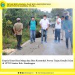 Kepala Dinas Bina Marga dan Bina Konstruksi Provsu Tinjau Kondisi Jalan di UPTJJ Siantar Kab. Simalungun