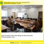 Rapat Koordinasi Dinas Bina Marga dan Bina Konstruksi Provsu