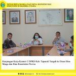 Kunjungan Kerja Komisi C DPRD Kab. Tapanuli Tengah ke Dinas Bina Marga dan Bina Konstruksi Provsu
